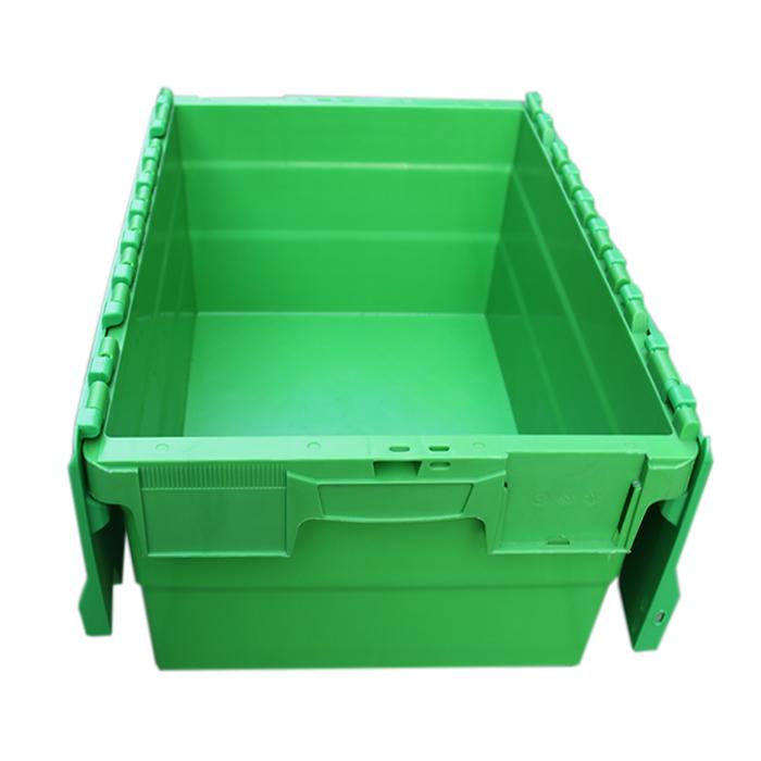 small plastic bin with lid