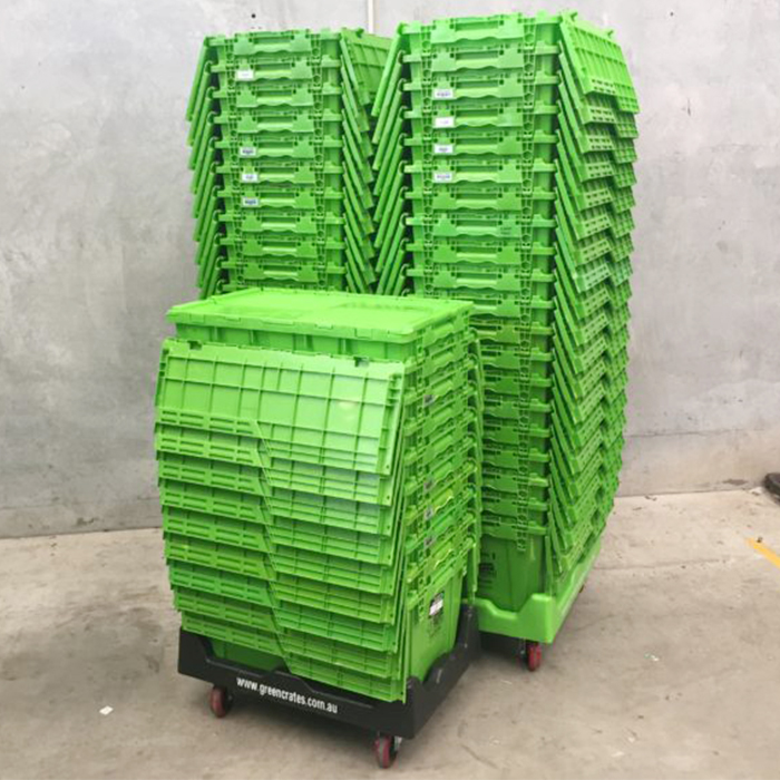 big storage boxes with lids