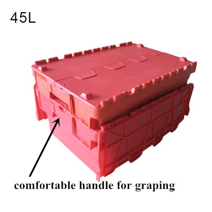heavy duty plastic crate