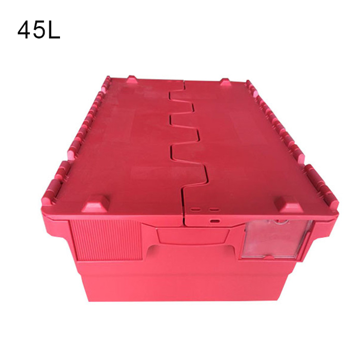 large nestable plastic crate
