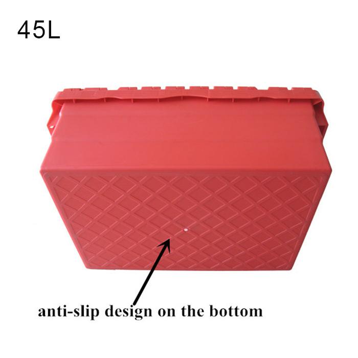 plastic bin with lid