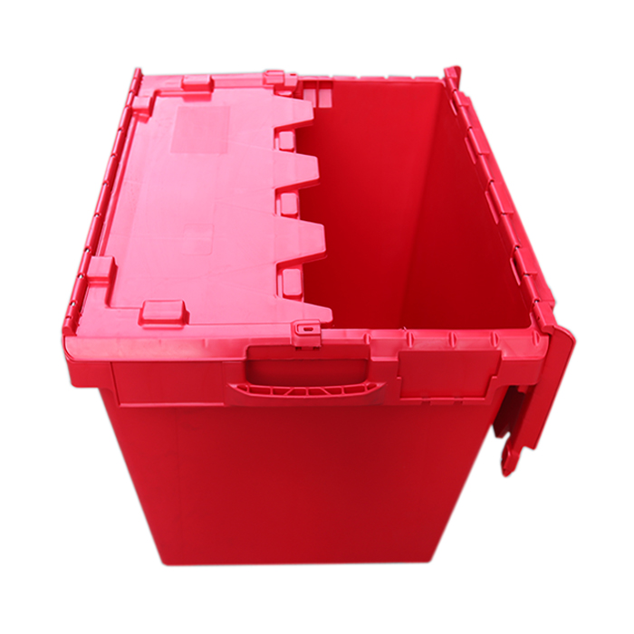 plastic container with lid and handle