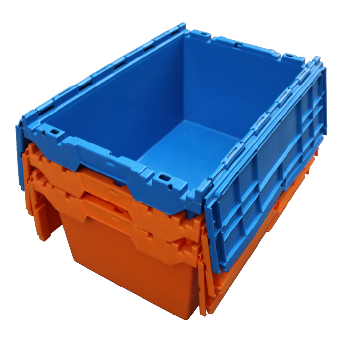 stacking storage boxes with lids