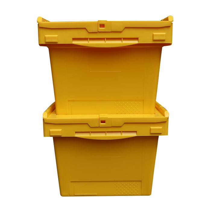 turnover platsic bin