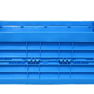 collapsible crate with wheels