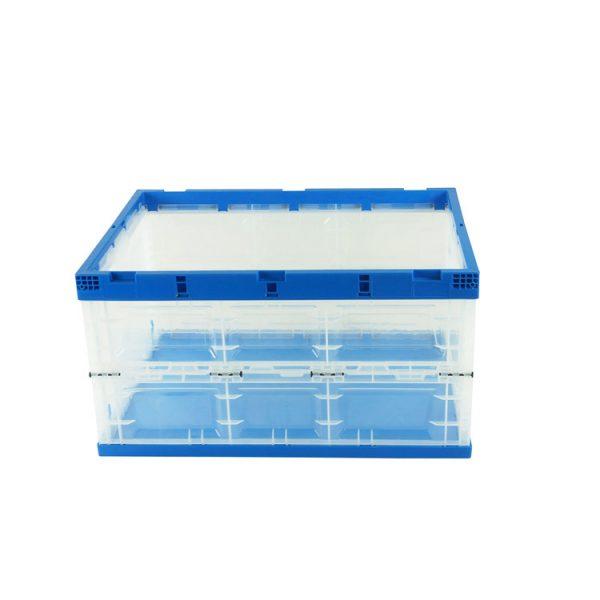 collapsible plastic storage crates
