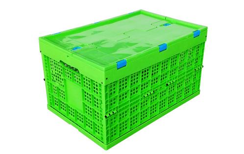 durable foldable plastic storage box for wholesale