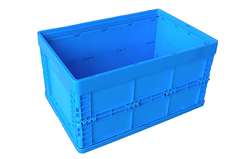 foldable bin with lid