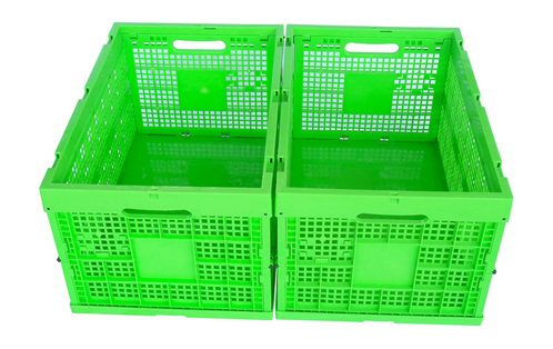 mesh style folding containers