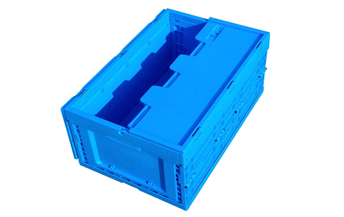 moving foldable crate