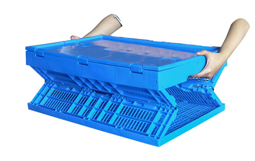 plastic collapsible box