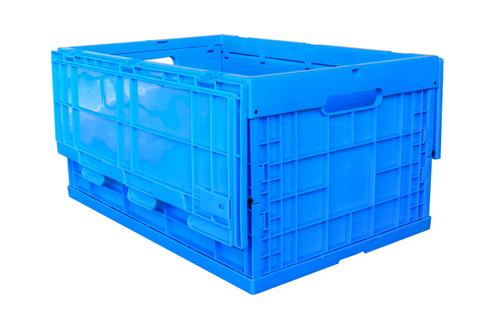 plastic crates folding