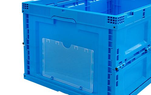 pp plastic folding storage box chemical use
