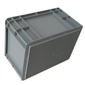 stackable turnover crate